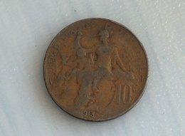 France 10 Centimes 1913 - France