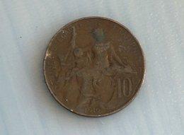 France 10 Centimes 1916 - France