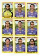 Figurine Calciatori 2009/2010 - FIORENTINA - Lotto Nr. 9 Figurine - Edizione Panini 2010 - (FDC21030) - Panini