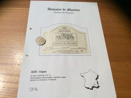 Étiquette De Vin 2000 «COTEAUX Du TRICASTIN - DOMAINE DE MONTINE - GAEC DE LA GRANDE TUILIERE - GRIGNAN (26)» - Côtes Du Rhône