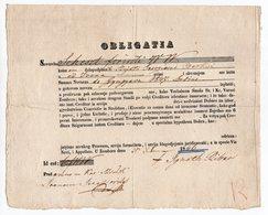 1846 AUSTRIA, HUNGARY, SERBIA, SOMBOR, OBLIGATION, FOLT, TEAR, SEE SCAN - Autriche