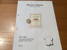Étiquette De Vin 1999 «COTEAUX Du TRICASTIN -DOMAINE DE MONTINE - Séduction -LA GRANDE TUILIERE -GRIGNAN (26)» - Côtes Du Rhône