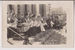 CARTE PHOTO : BOULOGNE SUR MER - PROCESSION NOTRE DAME DU 22 AOUT 1918 - PRELATS - EVEQUE - EGLISE - 2 SCANS - - Boulogne Sur Mer