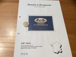Étiquette De Vin «COTEAUX Du TRICASTIN -DOMAINE DE GRANGENEUVE - DOMAINES BOUR - ROUSSAS (26)» - Côtes Du Rhône
