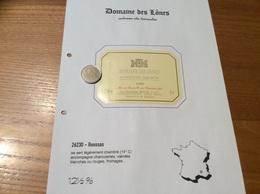 Étiquette De Vin 1999 «COTEAUX Du TRICASTIN -DOMAINE DES LÔNES - DOMAINES BOUR - ROUSSAS (26)» - Côtes Du Rhône