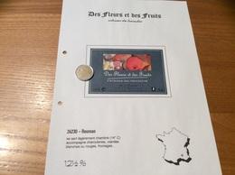 Étiquette De Vin «COTEAUX Du TRICASTIN -Des Fleurs Et Des Fruits - O & H BOUR - ROUSSAS (26)» - Côtes Du Rhône