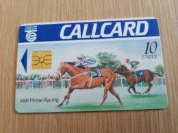 IRELAND /IERLANDE   CHIPCARD  10  UNITS      IRISH HORSE RACING      ** 1122** - Irlande