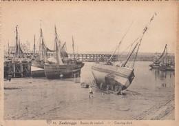 ZEEBRUGGE /  DROOGDOK / VISSERSBOTEN H.16 / H.31 EN H.58 - Zeebrugge