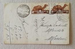 Cartolina Augurale Da Quoram Per Modena - 27/11/1939 - Eritrea