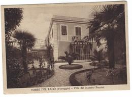 5150 - TORRE DEL LAGO VIAREGGIO VILLA DEL MAESTRO PUCCINI 1940 CIRCA - Italia
