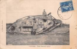 08 - Vouziers - Tank Allemand Capturé Et Animé - Vouziers