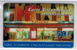 Top Collection - CENTRAL TELECOM - 50 F Tabac Le Marigny Pontoise - Voir Scans - Francia