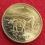 Nepal 2 Rupees 2006 UNCºº - Népal