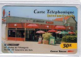 Top Collection - CENTRAL TELECOM - 50 F Tabac Le Longchamp Ste Geneviève Des Bois - Voir Scans - Francia