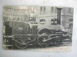 FERROVIAIRE - Locomotive - Coll. F. Fleury - Première Machine De L'Ouest Pour Trains De Voyageurs - Cie De L'Ouest- 1844 - Trains