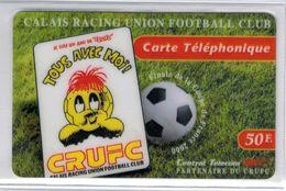 Top Collection - CENTRAL TELECOM - 50 F CRUFC Calais Foot - Voir Scans - Francia