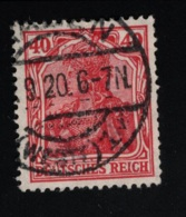 1920 Freimarke Mi DR 145 I Yt DR 123 Sg DR 144a - Deutschland