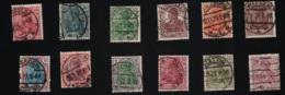 1920 Germania Lot Mi DR 140 - 152 Sn DE 118 - 31 Yt DR 119 - 30 Sg DR 140 - 51 Ohne Mi 149 - Deutschland
