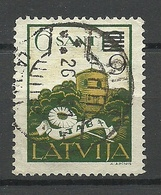 LETTLAND Latvia 1931 Michel 184 O Signed - Lettland