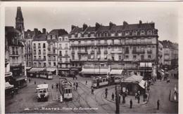 CPM Nantes - Place Du Commerce - 1950 (48700) - Nantes