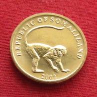 Somaliland 10 Shilling 2002 Monkey Somalilandia Wºº - Somalie