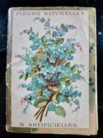 CALENDRIER Petit Format _ 1888 _ 16 Pages Recto Verso - Language Des Fleurs - Calendarios