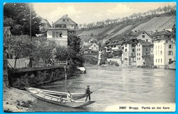 CPA AK Suisse AG Argovie BRUGG - Partie An Der Aare° Wehrli A.G. 20867 - AG Aargau