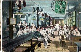 CPA  -  Bar Le Duc - Caserne - Salle De Lecture - écrite 1913 - Casernes