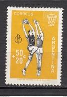 Argentine, Argentina, Basketball, Basket-ball, Jaune, Yellow - Basketball
