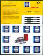 BRD - Mi 3540 Gestanzt  10x = MH 119 - ** Postfrisch - 110C     Optische Täuschungen - Ausgabe 02.04.2020 - Postzegelboekjes