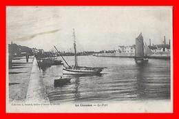 CPA (85) SABLE D'OLONNE.  La Chaume, Le Port...I480 - Sables D'Olonne