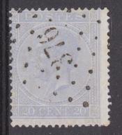 LP 376 Vierves  Coba 20 - 1865-1866 Profile Left