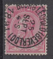 N° 46 Bourgleopold (Beverloo) 1891 - 1884-1891 Léopold II