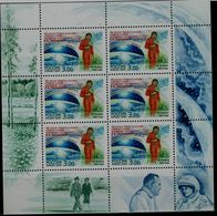 RUSSIA  2003 VALENTINA TERESHKOWA MINI SHEET MI No 1068 MNH VF!! - Blocs & Feuillets