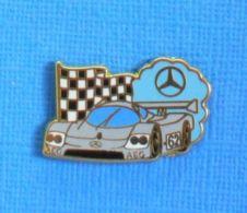 1 PIN'S //  ** SAUBER MERCEDES C9 / 1989 / AEG / N° 62 ** . (Arthus Bertrand Paris) - Arthus Bertrand