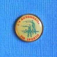 1 PIN'S //  ** L'ÉTOILE AUXONNAISE / TIR SPORTIF / BOURGOGNE-FRANCHE-COMTÉ ** - Pin's