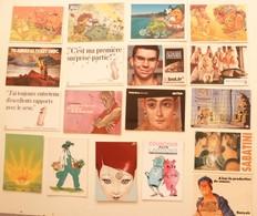 Lot De 18 Cartes Postales Publicitaires /a - Advertising