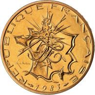 Monnaie, France, Mathieu, 10 Francs, 1983, Paris, FDC, Nickel-brass - K. 10 Francs