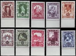 ** Austria - 1947 - Mi. 812-21 - Art Exhibition - 1945-60 Ungebraucht