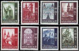 ** Austria - 1948 - Mi. 885-92 - Salzburg Cathedral - 1945-60 Ungebraucht
