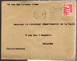 30234 - SANATORIUM ARMEE FRANCAISE D OCCUPATION - Marcophilie (Lettres)