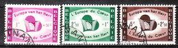 1090/92  Europe Du Coeur - Série Complète - Oblit. - LOOK!!!! - Belgique