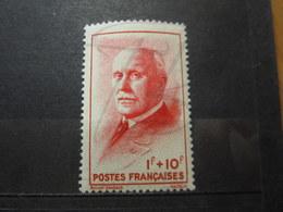 VEND BEAU TIMBRE DE FRANCE N° 570 , XX !!! - 1941-42 Pétain