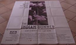AFFICHE CINEMA ORIGINALE FILM THE INDIAN RUNNER Sean PENN David MORSE Viggo MORTENSEN BRONSON 1991 - Posters