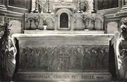 04 Manosque Interieur De L' Eglise Notre Dame Sarcophage Chrétien Du 4eme Siecle - Manosque
