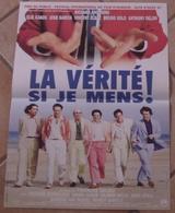 AFFICHE CINEMA ORIGINALE FILM LA VERITE SI JE MENS ! ANCONINA KAKOU GARCIA SOLO DELON MELKI 1997 - Posters