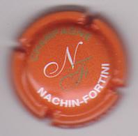 Capsule Champagne NACHIN-FORTINI ( 2b ; Orange , Blanc Et Or ) {S14-20} - Champagne