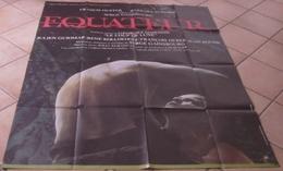 AFFICHE CINEMA ORIGINALE FILM EQUATEUR Serge GAINSBOURG Francis HUSTER Barbara SUKOWA 1983 GABON - Posters