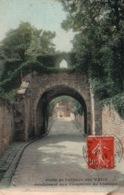 Porte De L'Abbaye De Vaux De Cernay Conduisant Au Château - Edition A. Bourdier - Carte Colorisée - Vaux De Cernay