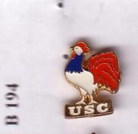 B194 Bis Pin's COQ BBR USC  Achat Immédiat - Pin's